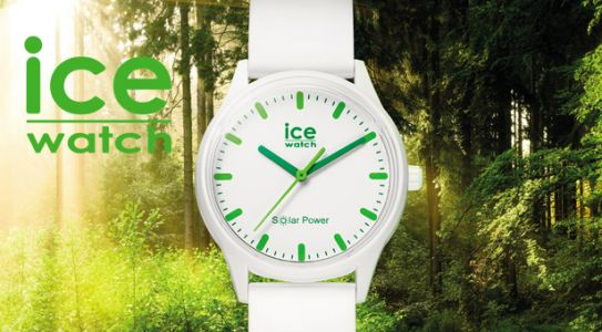 Ice Watch sort la montre solaire