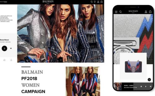 L'application Balmain est désormais disponible