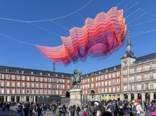 Fascinating Installation In Madrid