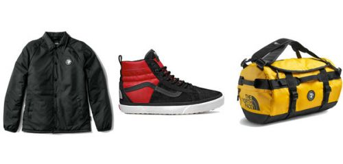 Vans x The North Face, une collab' pour affronter la rudesse de l'hiver
