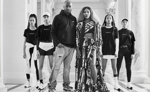 Serena Williams:  muse de Virgil Abloh et de Nike