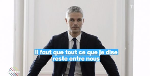 VIDEO. En off, Laurent Wauquiez tacle violemment Emmanuel Macron et Gérald Darmanin