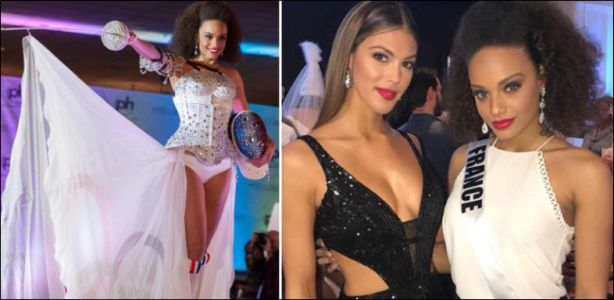 Miss Univers - Miss France doit modifier sa robe à cause du CIO