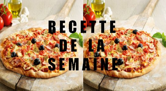 Pizzas jambon fromage