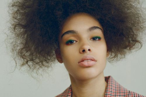 Samantha Ellsworth is the junior cadet whose first booking was for Vogue Italia