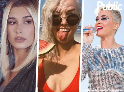Hailey Baldwin, Katy Perry, Karlie Kloss. Ces stars désormais blondes plaine !