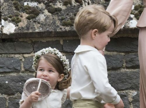 Public Royalty:  sans surprise, George et Charlotte seront les enfants d'honneur du royal wedding !