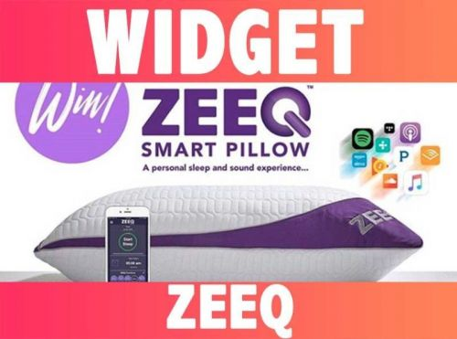 WIDGETS:  ZEEQ the smart pillow:  Le coussin intelligent connecté !