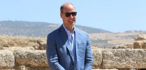 PHOTOS. Le prince William sur les traces de Kate Middleton lors de sa visite en Jordanie