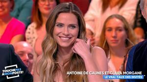 Moment hot: Clara Morgane a embrassé une chroniqueuse de TPMP en direct