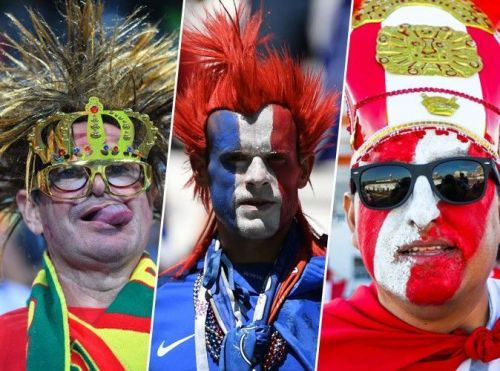 Coupe du monde 2018:  Les plus beaux looks de supporters