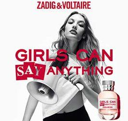 Zadig & Voltaire Girls Can Say Anything ~ new fragrance