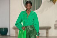 Mode:  comment adopter le total look vert ?