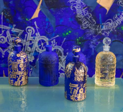 Guerlain habille « Santal Royal » d'un flacon d'exception pour son 5e anniversaire