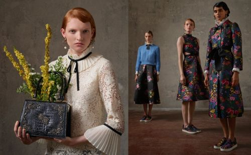 En image:  la collaboration H&M x Erdem