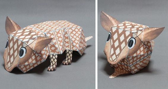 Awesome Paper Toys by Haruki Nakamura