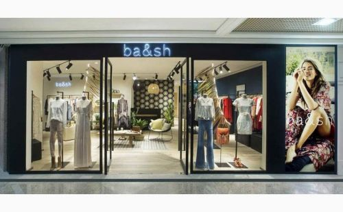 Ba&sh propose un service de location gratuite dans sa boutique de New-York