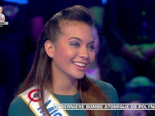 "VIDEO. ""Raclette et copines"" : la soirée ""sans Valentin"" de Vaimalamas Chaves, Miss France 2019"