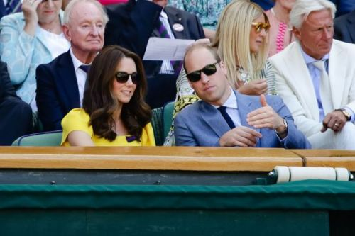 PHOTOS. Kate Middleton et le prince William, très complices lors de la finale homme de Wimbledon