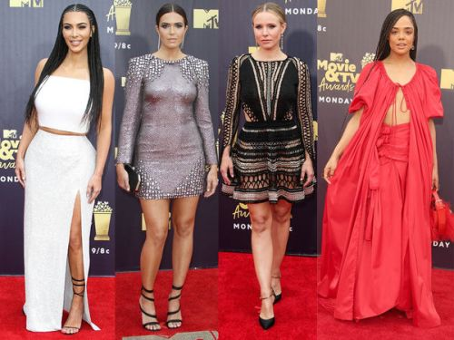 PHOTOS. Kim Kardashian, Chris Pratt. Les stars aux MTV Awards