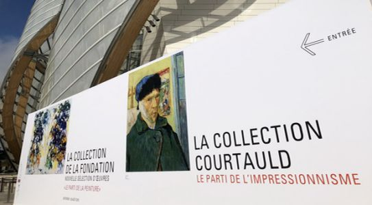 Fondation Louis Vuitton:  la collection Courtauld - le parti de l'impressionnisme