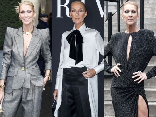 PHOTOS. Fashion Week de Paris:  tous les looks mode de Céline Dion