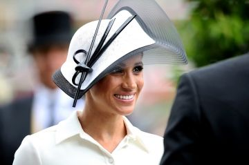 Meghan Markle sublime et chic au Royal Ascot