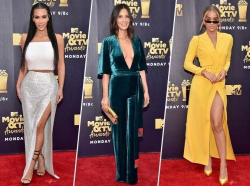MTV Movie and TV Awards:  Kim Kardashian, Olivia Munn, Jasmine Sanders. Découvrez les plus beaux looks du red carpet !