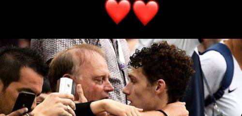 PHOTO. Coupe du monde 2018:  le tendre message de Benjamin Pavard à son père