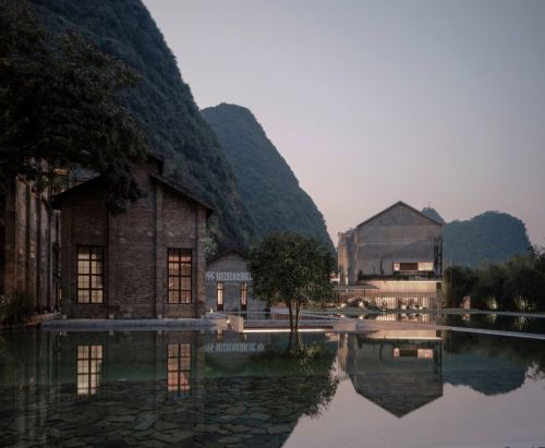 Sugar Factory Transformed Into A Luxurious Hotel