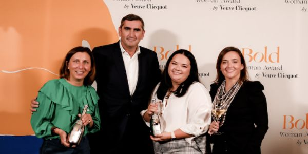 AND THE WINNER IS:  Veuve Clicquot Bold Woman Award Belgique 2021